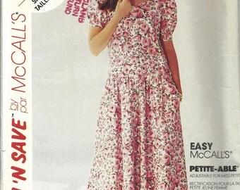 Misses Dress Sewing Pattern, McCalls 5217
