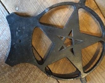 Vintage Castiron Star.