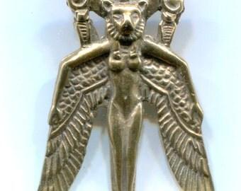 Winged Sekhmet - Bronze - 5322B