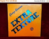 MOTHERS DAY SALE George Harrison - Extra Texture (Read All About It) - 1975 Vintage Vinyl Record Album