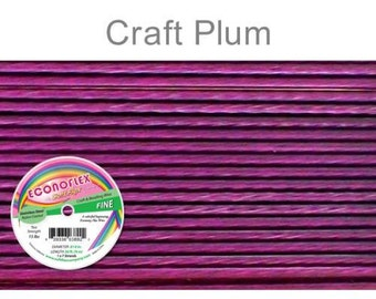 Econoflex Fine Plum Wire .014 Diameter  - 30Ft Wholesale Price (11355)/1