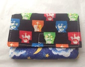 The Beatles Groovy Cotton Wallet