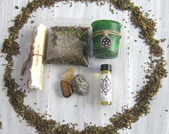 wicca supplies Spell kit witchcraft supply occult pagan wiccan altar tools spells magick witchy crystal set wiccan starter kit
