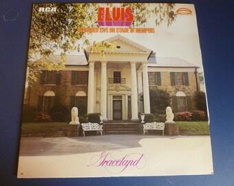Elvis Graceland Vinyl Record AFL1-0606 RCA Stereo 1974