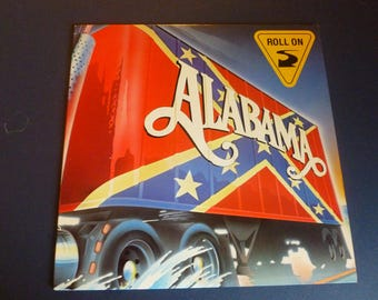 Alabama Roll On Vinyl Record LP AHLI 4939 RCA Records 1984