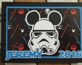 Personalized Disney Autograph Book Inspired by Stormtroopers