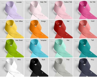 Upgrade Listing - Curtain Tie Backs - Grosgrain Ribbon - You Pick Color