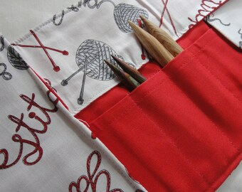 Let's Knit Interchangeable Knitting Needle Case