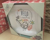hello SUNSHINE - trinket dish perfect for jewelry in a gift-ready box