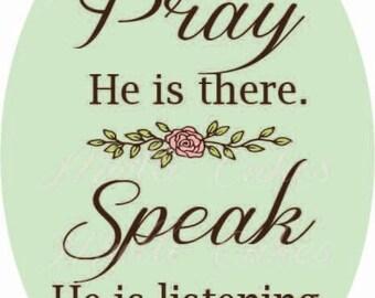 Children's Prayer Printable