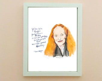 Grace Coddington, inspiring women, inspiring quote, Feminism