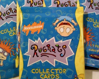 Nickalodeon RUGRATS Trading Cards, 1 Pack