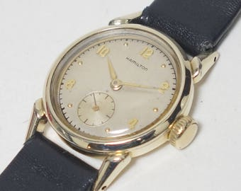 1949 Hamilton Langdon CLD Gents Wrist Watch & Box, Hamilton USA Langdon Grade 747 Wrist Watch, Hamilton Langdon CLD Sealed Watch, Serviced