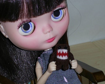 OOAK Needle Felted Blythe Toy Miniature Domo-Kun