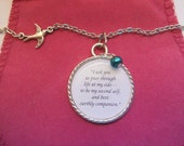 Jane Eyre Mr Rochester  Marriage Proposal Quote A Pendant Necklace
