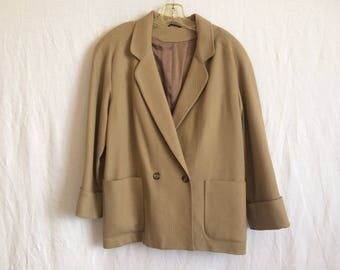 Tan blazer by Swingles sz 13/14