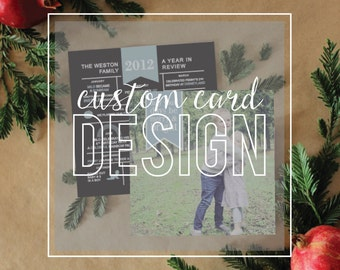 Custom Special Occasion Cards 5x7 {Holidays, Announcements, Celebrations, Save The Date, Invitations, etc}