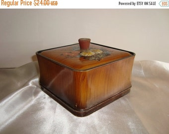 ON SALE Box Vintage Trinket Box Engagement Ring Box Gift For Maid Of Honor