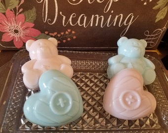Baby soaps, Baby Powder Soaps, Bar Soap, Baby Shower Favors, Girl soap, Boy Soap