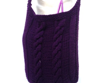 Crossbody Bag Shoulder Bag  Long Strap  Roomy Tote Knitting Pattern PDF File Not a Finished Product