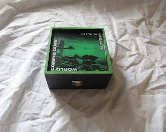 Type O Negative World Coming Down Keepsake Stash Storage Box