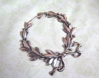 Gorham Sterling Silver Wreath Ornament