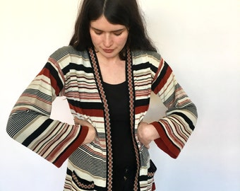 70s Space Dyed Bell Sleeve Sweater