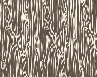 Scenic Route Woodgrain in Brown, Deena Rutter, Riley Blake Designs, 100% Cotton Fabric, C3664-TAN