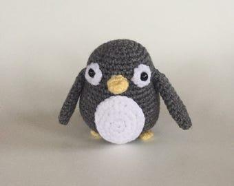 Crocheted Penguin  - Made to Order - Penguin Amigurumi - handmade penguin