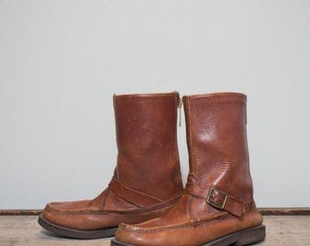 SALE 7 B | Men's Vintage Orvis Hunting Boot Bird Shooter Boot with Talon Zippers
