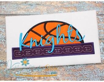 Basketball Chain Applique