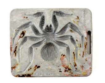 Vintage Giant Creepy Crawlers Tarantula Spider Mold for Mattel Thingmaker #4490-055 (c.1964) I - Collectible Toy, Oddity, Unique Curio Decor