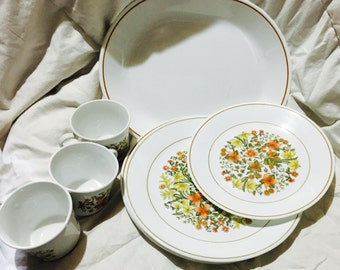 Vintage Corelle Indian Summer Mix & Match Dishes