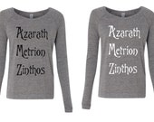 Custom Order  - Final Sale - as pictured - Size Women's S Eco Grey Text Color TBD
