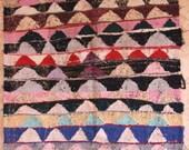 "190X130  cm ( 6' 2"" x 4' 3"") FREE SHIPPING worldwide KA29190 vintage berber kilim rug, flat rug, moroccan rugs , rag rug,morocco carpets"