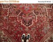 10% OFF RUG SALE Discounted 9.5x13.5 Vintage Mehrivan Carpet
