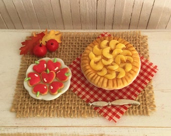Miniature Apple Pie And Apple Sugar Cookies