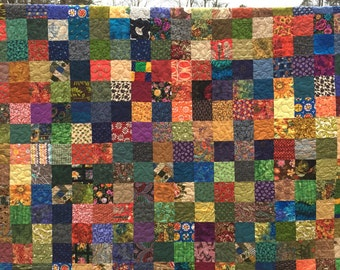 Patchwork King Quilt - Quilts - Handmade King Quilts - King Bedding - King Blankets -  Custom Patchwork Quilt, Bed Quilts -10