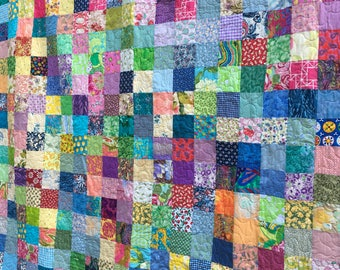 Patchwork Quilts - Queensize Quilts - Queen Bedding - Cotton Quilts - Quilts -Traditional Quilts - Quilt for Mom - 5