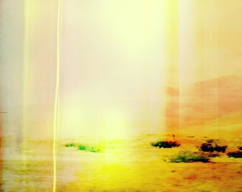 Large Abstract Desert Landscape, Desert Color, Modern Home Decor, Minimalist Interior, New Mexico Landscape, Southwest Modern Art