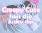 Creepy Cute Hair Clip Lucky Dip 2pcs