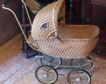 Layaway Payment #5...Macblane...Vintage Doll Buggy Circa Early 1920's