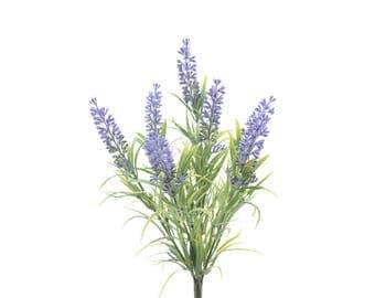 Lavender Branch Artificial Flowers