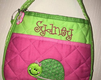 Personalized Stephen Joseph Turtle Purse
