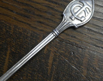vintage silver plate tea spoon TC