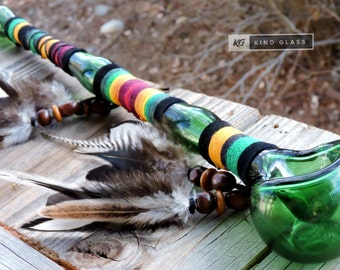 Glass Pipe, Unique Pipe, Peace Pipe, Pretty Pipe, Girly Pipe, Cute Pipe, Unity Pipe, Tobacco Pipe, Smoking Pipe, Glass Smoking Pipe