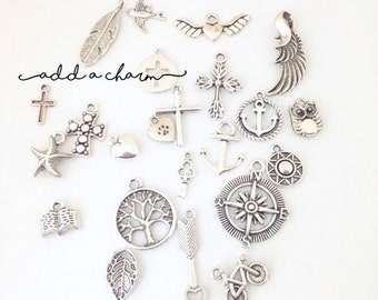 Add a SILVER Charm to your Hendersweet Necklace or Bracelet.