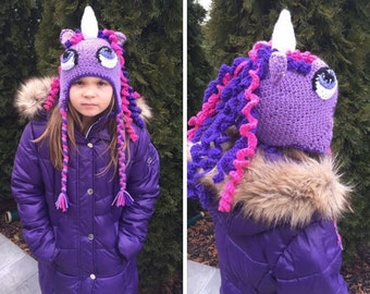 Twilight Unicorn Hat