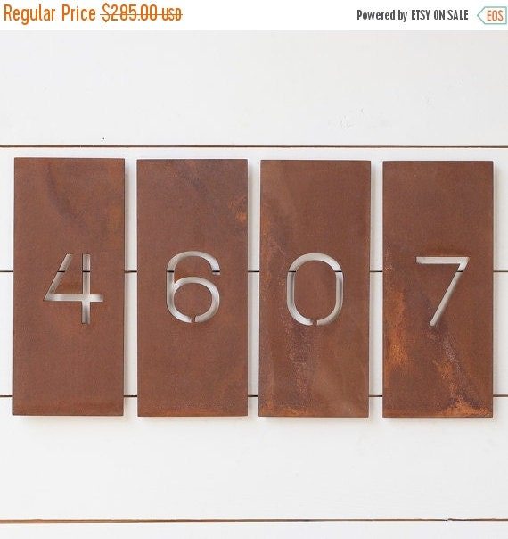 ON SALE The Allandale House Numbers