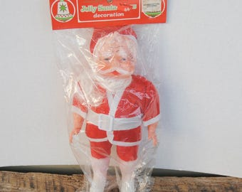 Vintage Santa Claus Jolly by Commodore Mfg. Co.